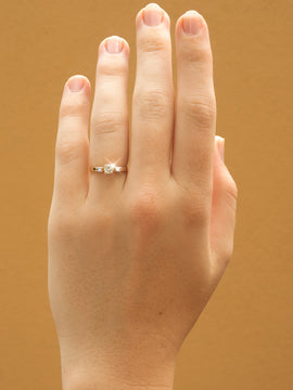 The Helouise Vintage Diamond Ring