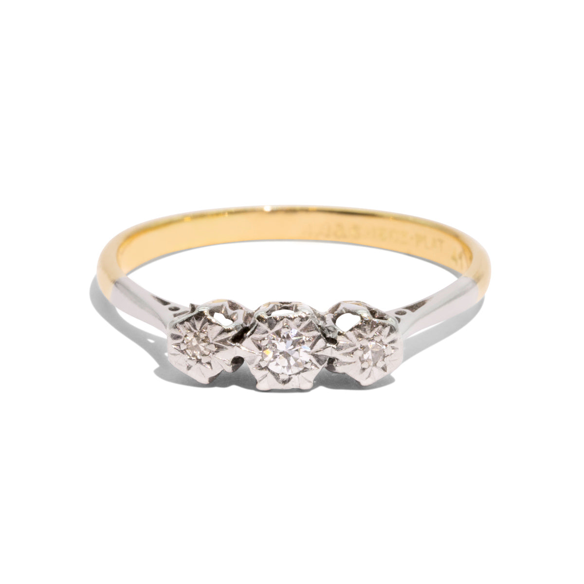 The Maxine Vintage Diamond Ring