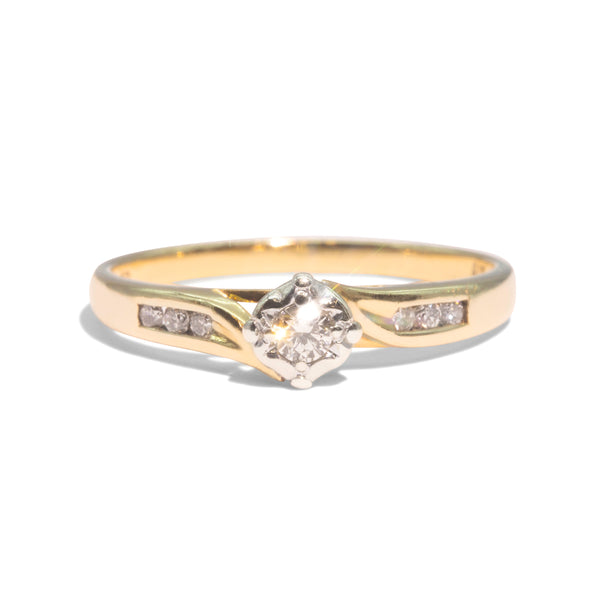 The Tibby Vintage Diamond Ring