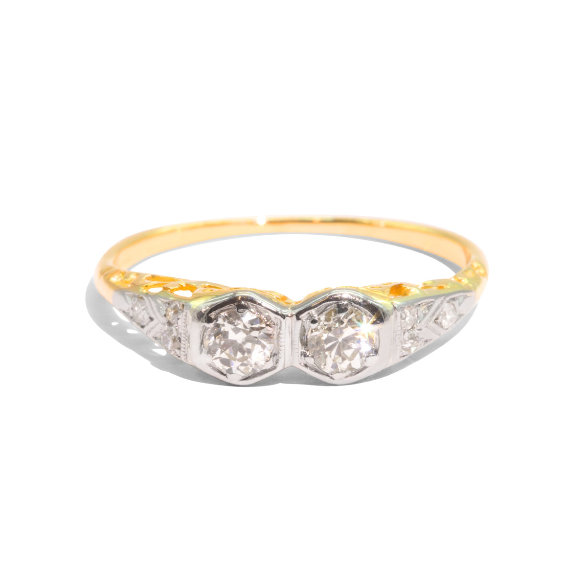 The Peyton Vintage Diamond Ring