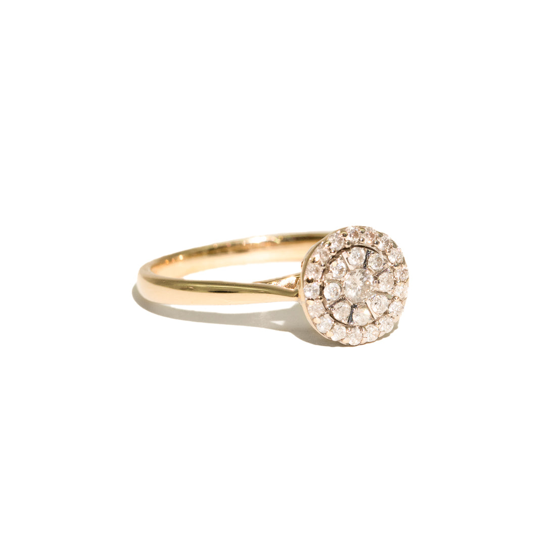 The Daphne Vintage Diamond Ring