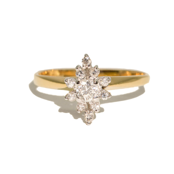 The Eliza Vintage Diamond Ring