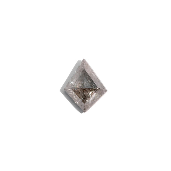 Create Your Ring - 0.57ct Kite Cut Salt & Pepper Diamond