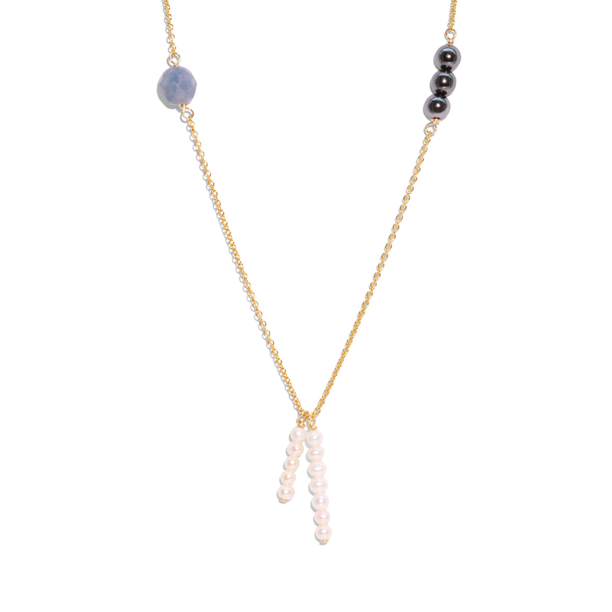 The Gold Galaxy Frost Necklace