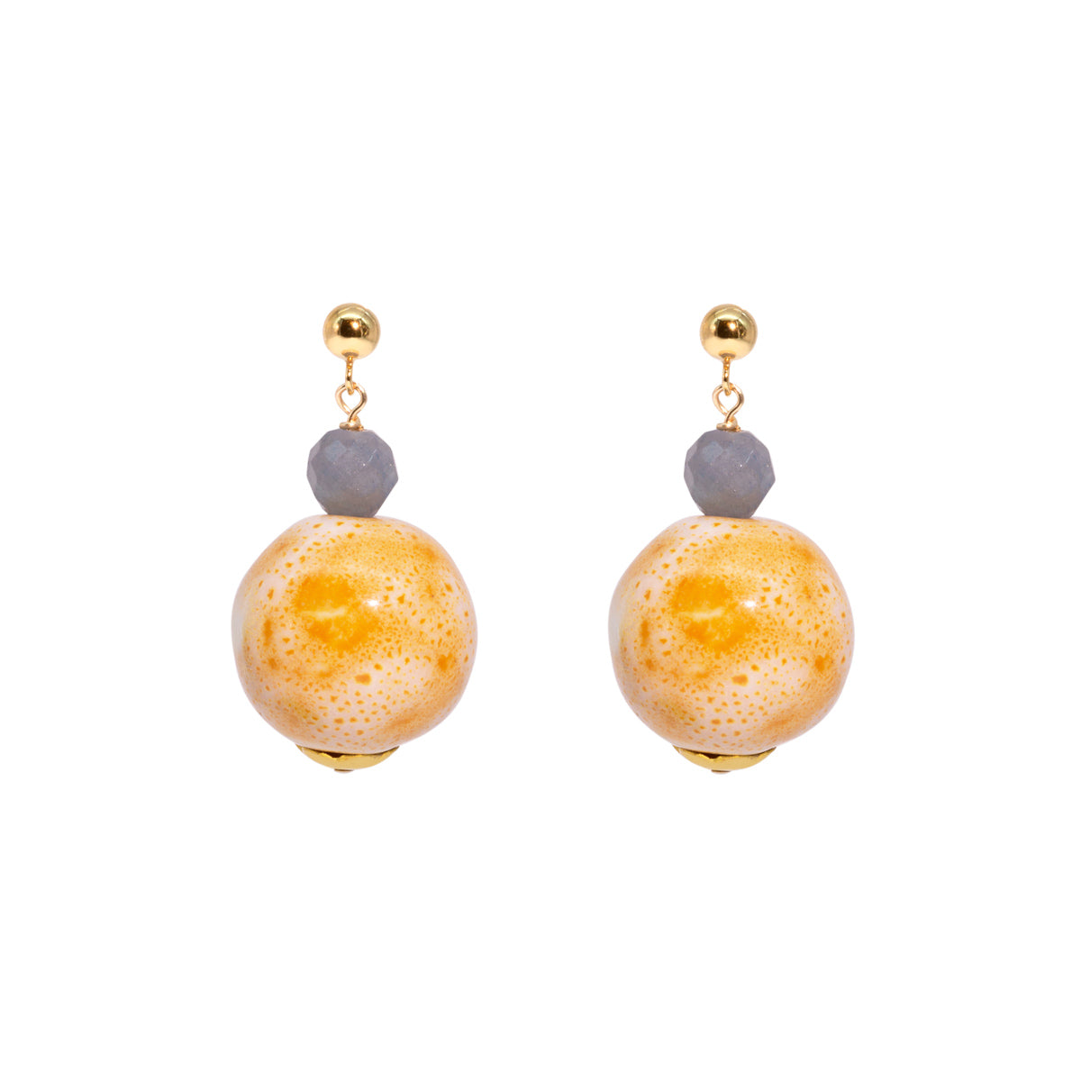 The Gold Jelly Tot Earrings