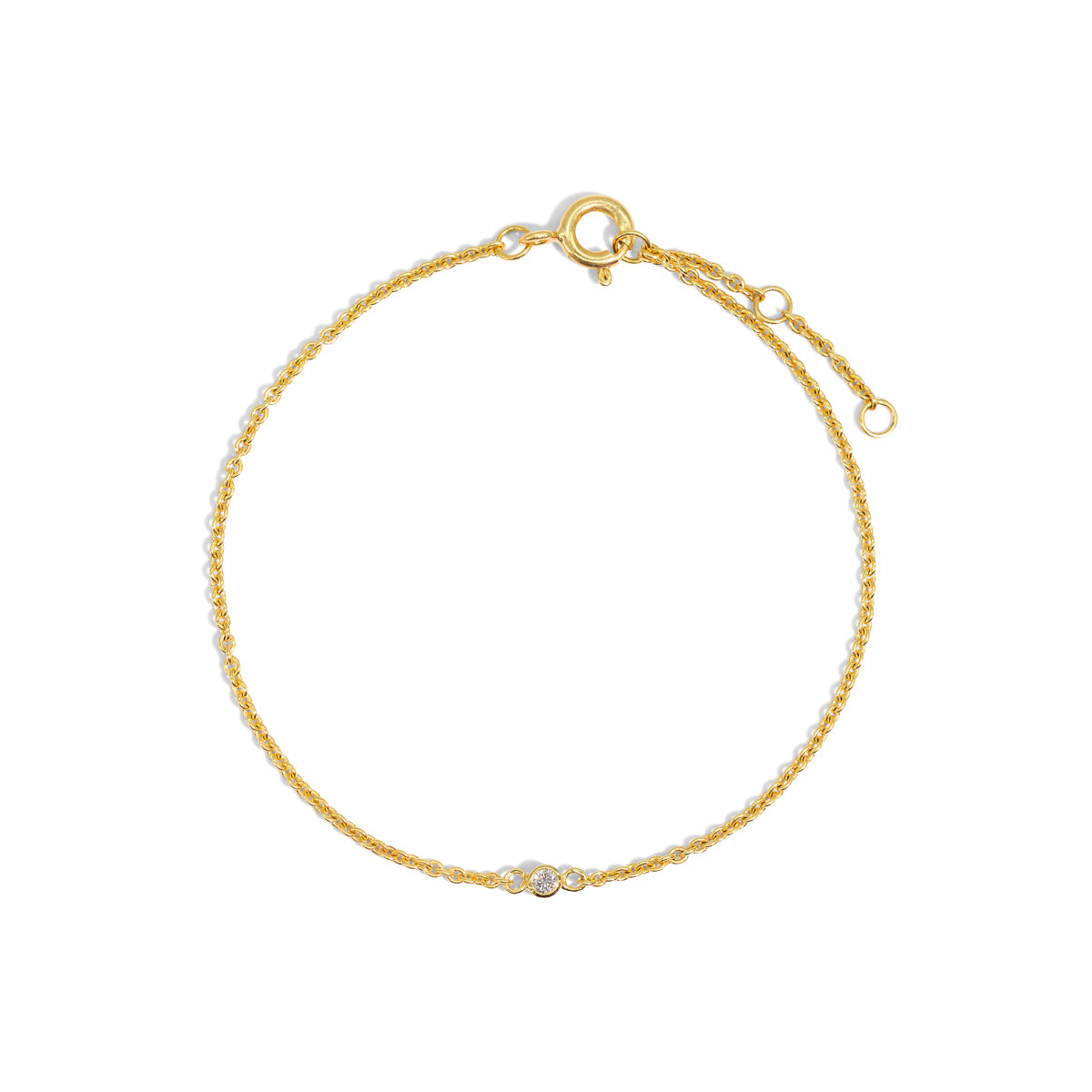 The Gold Diamond Speck Bracelet