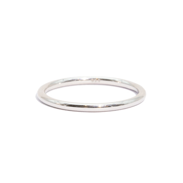The Silver Fine Line Ring