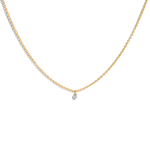 The Gold Epoch Salt & Pepper Diamond Necklace