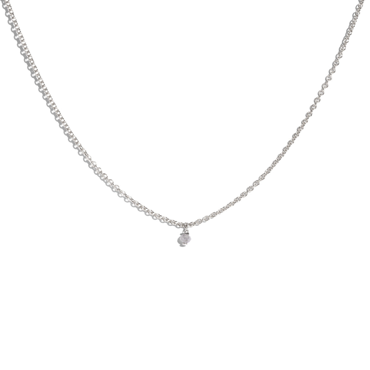 The Silver Epoch Salt & Pepper Diamond Necklace