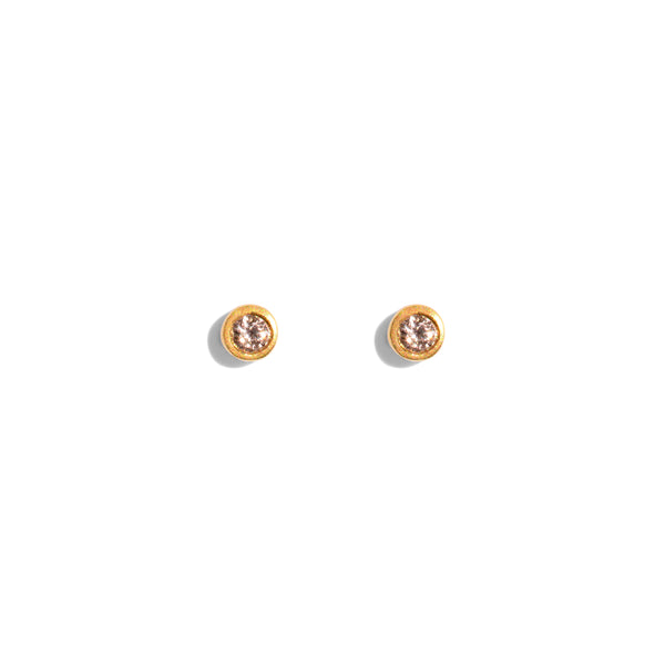 The Gold Diamond Speck Stud Earrings