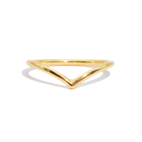 The Gold Starting Point Ring