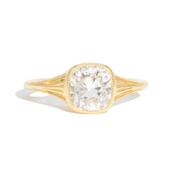 The Viola Solitaire Diamond Ring