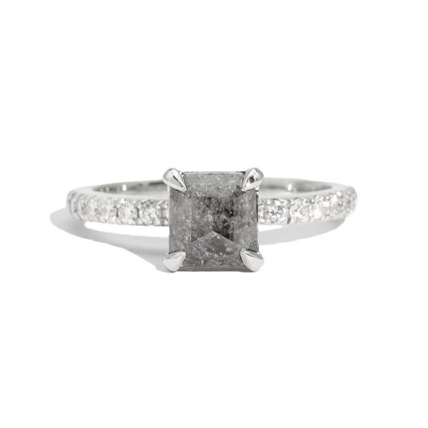 The Venus Salt & Pepper Diamond Ring
