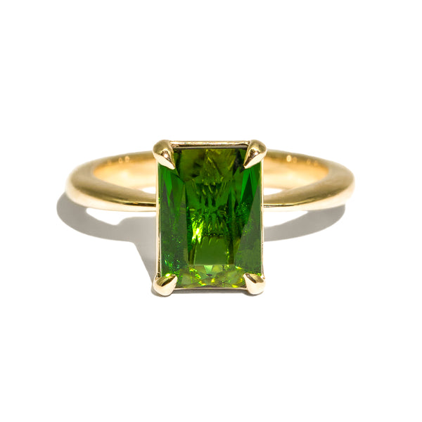 The Selena Solitaire Tourmaline Ring