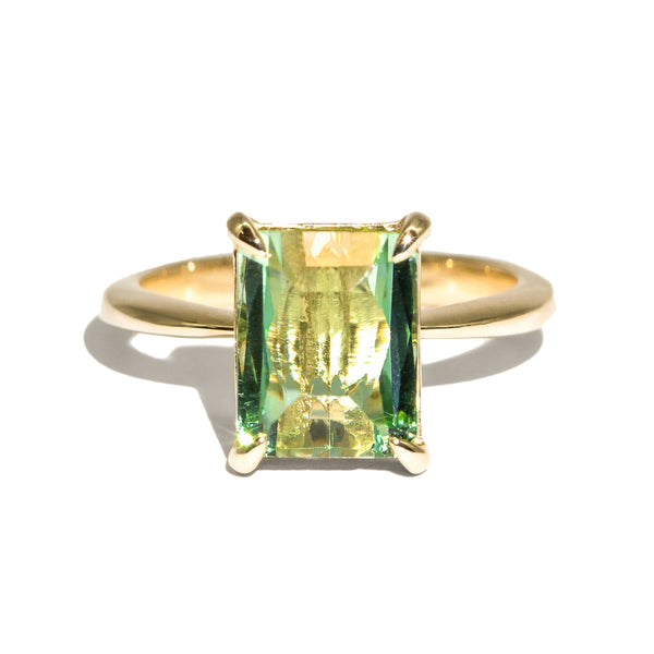 The Theodora Solitaire Tourmaline Ring