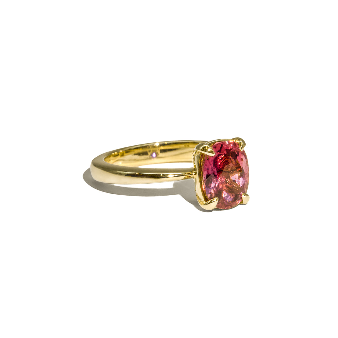 The Felicity Solitaire Tourmaline Ring