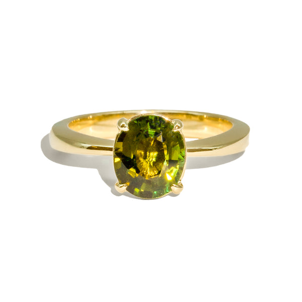 The Alexandra Solitaire Tourmaline Ring