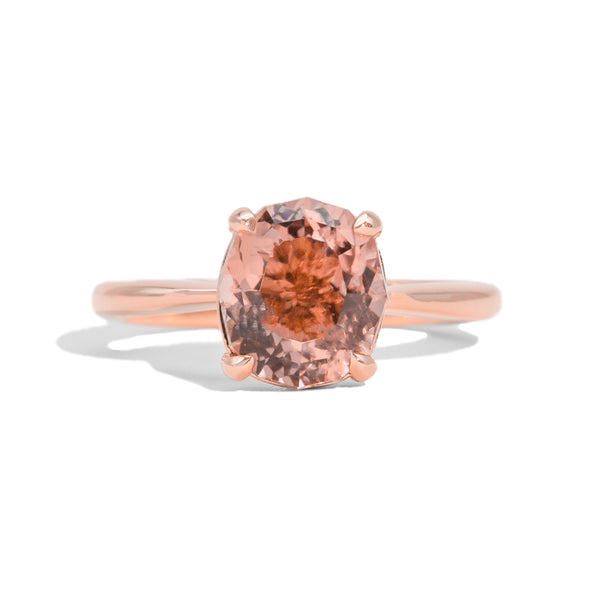 The Mia Solitaire Tourmaline Ring