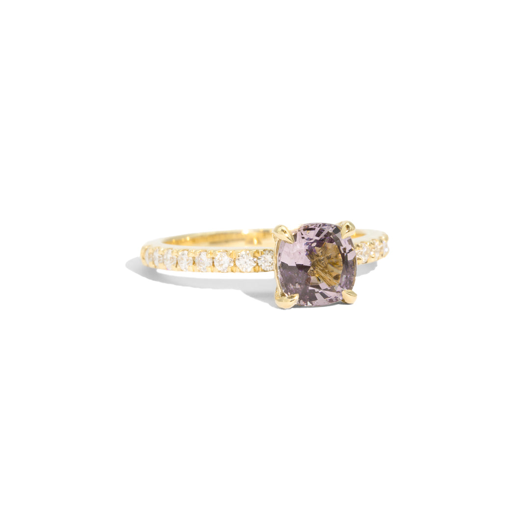The Phoebe Spinel Pavé Ring