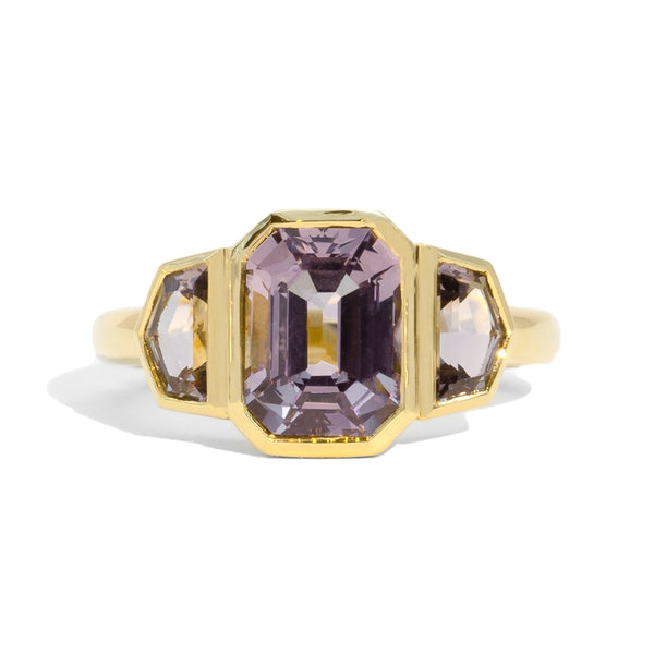 The Ingrid Three Stone Spinel Ring