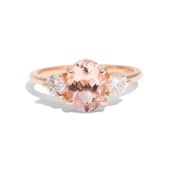 The Ada Morganite & Diamond Ring