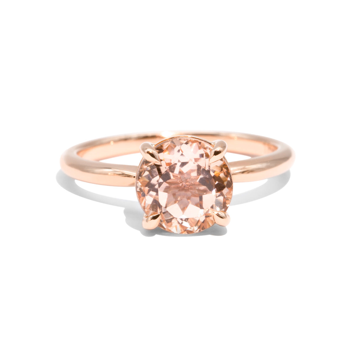 The Chloe Morganite Ring