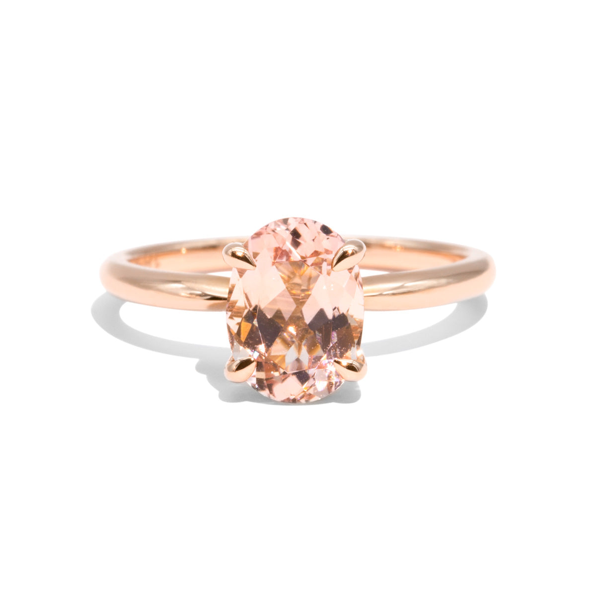 The Florence Morganite Ring
