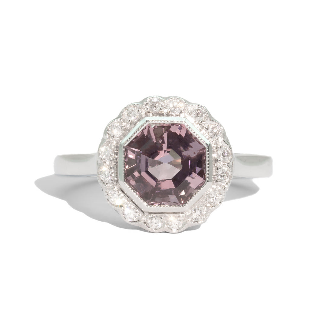 The Arabella Spinel & Diamond Ring