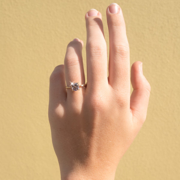 The Lulu Solitaire Spinel Ring