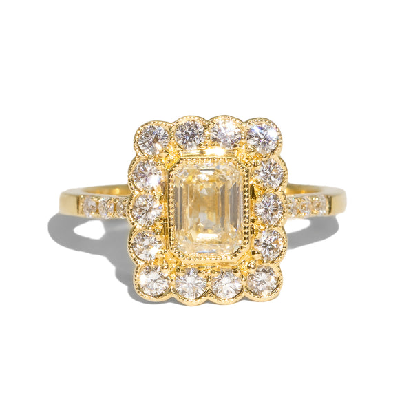 The Elodie Yellow Diamond Ring