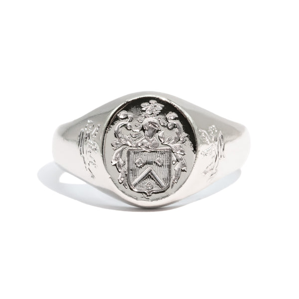 The Alistair Vintage Signet Ring