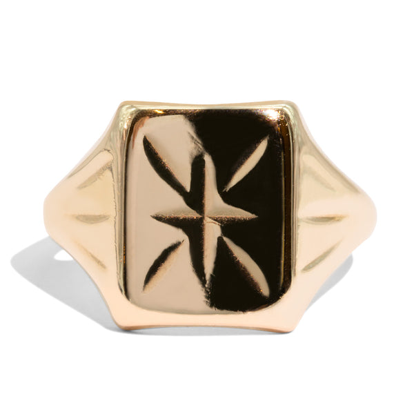 The Jordan Vintage Signet Ring