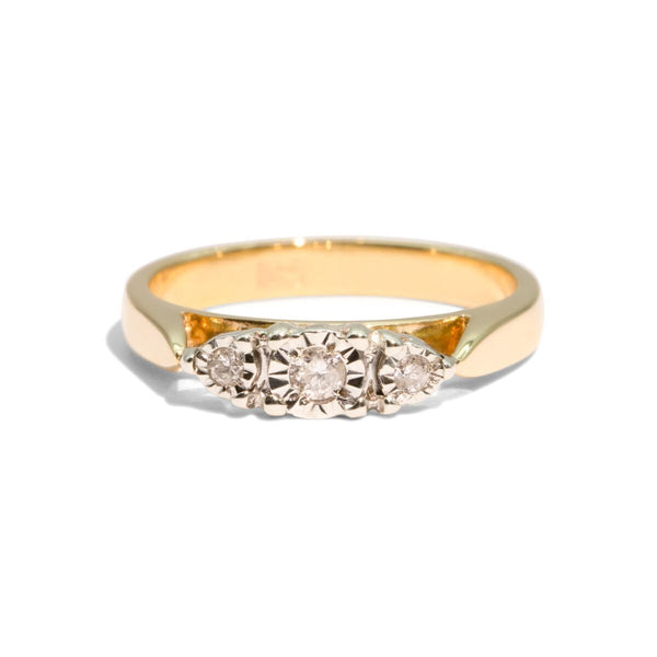 The Clare Vintage Diamond Ring