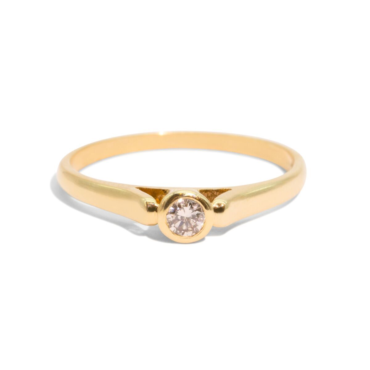 The Skylar Vintage Diamond Ring
