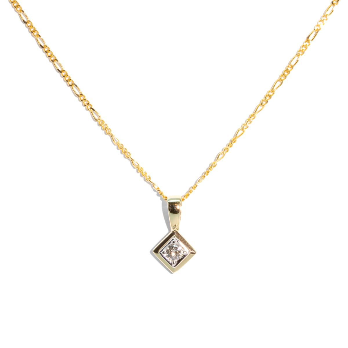 The Naomi Vintage Diamond Necklace