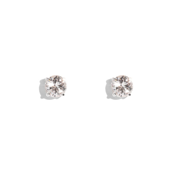 The Dita Vintage Diamond Earrings