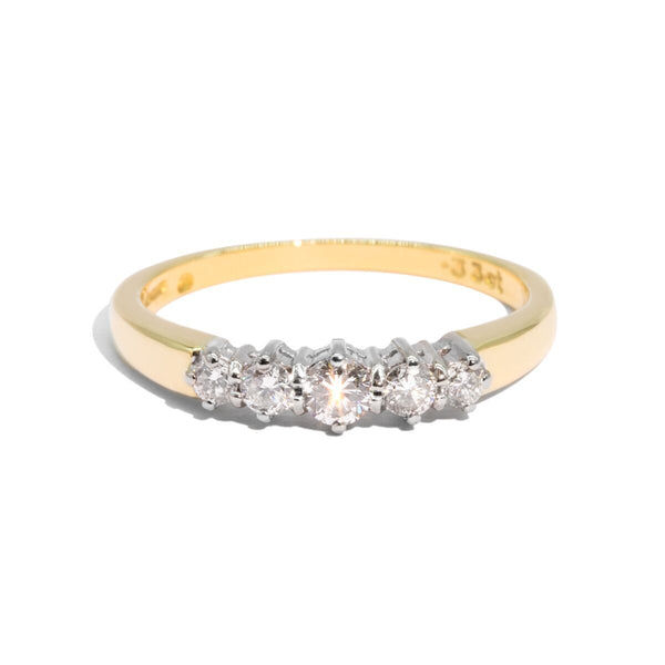 The Rashida Vintage Diamond Ring