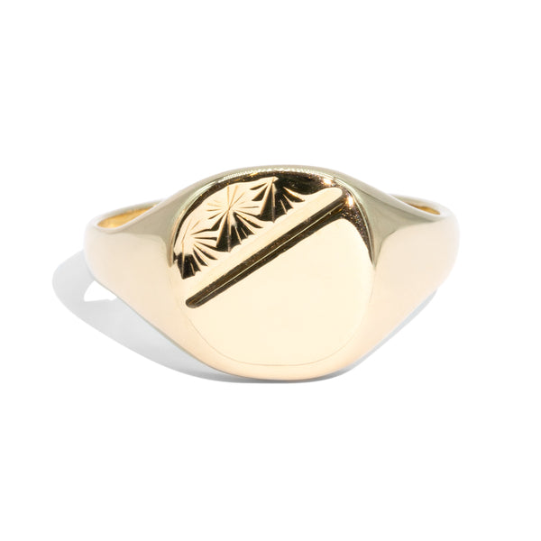 The Bruno Vintage Signet Ring
