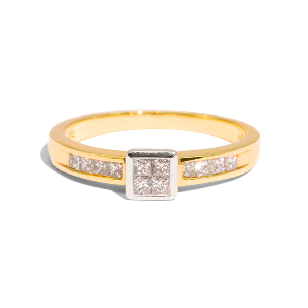 The Regina Vintage Diamond Ring