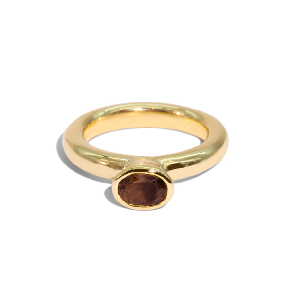 The Wren Vintage Quartz Ring