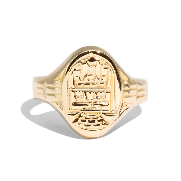 The Elijah Vintage Signet Ring