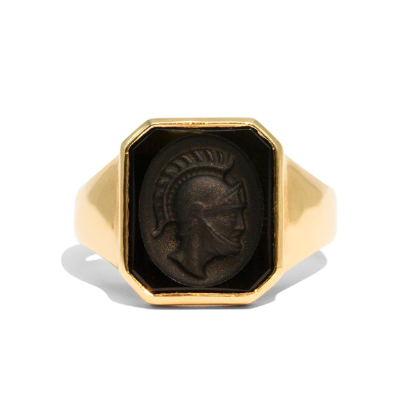 The Brutus Vintage Signet Ring