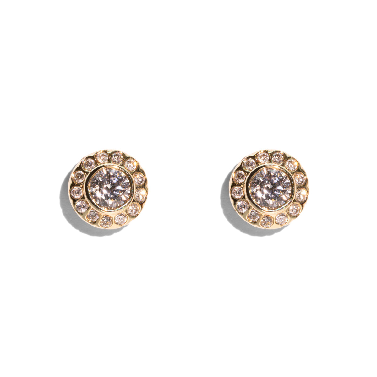 The Arabella Vintage Diamond Earrings