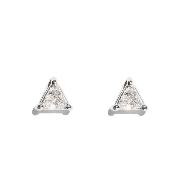 The Georgette Vintage Diamond Earrings