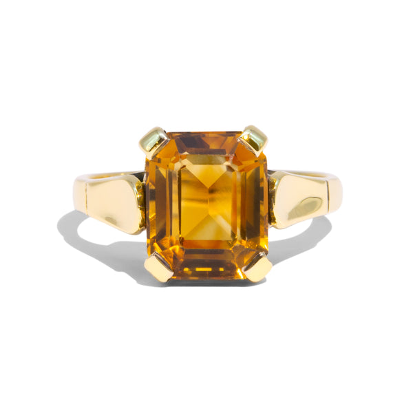 The Chelle Vintage Citrine Ring