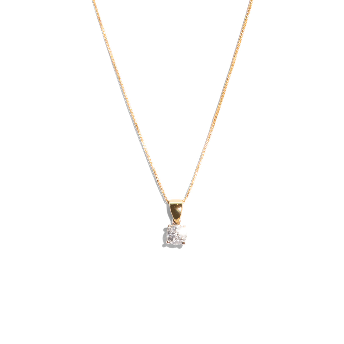 The Marianne Vintage Diamond Necklace