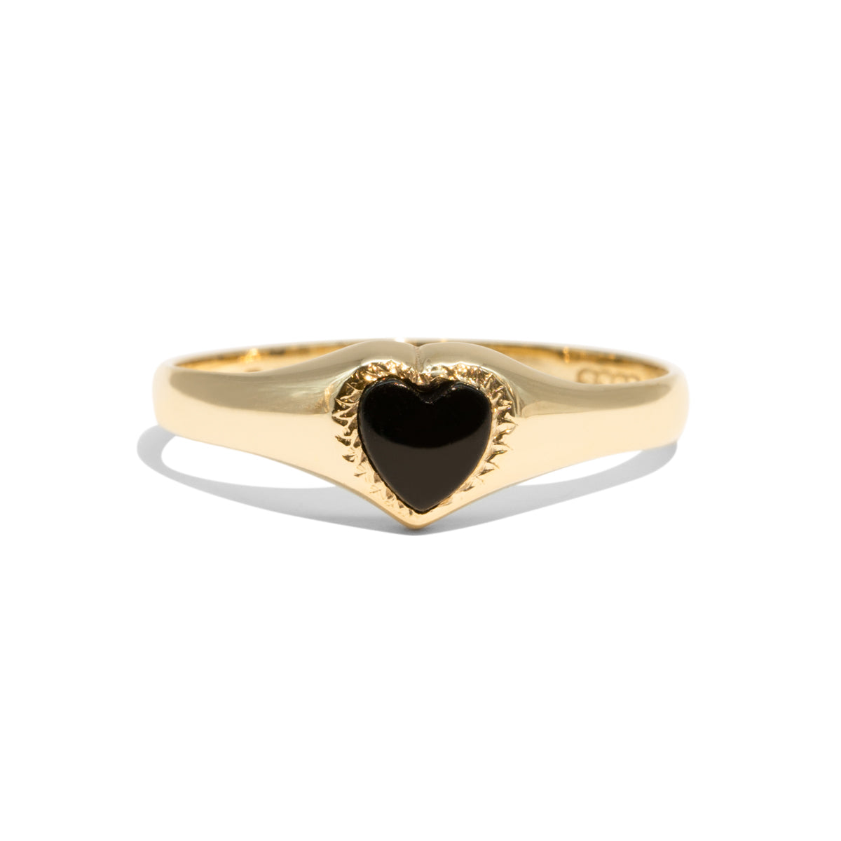 The Blair Vintage Onyx Ring