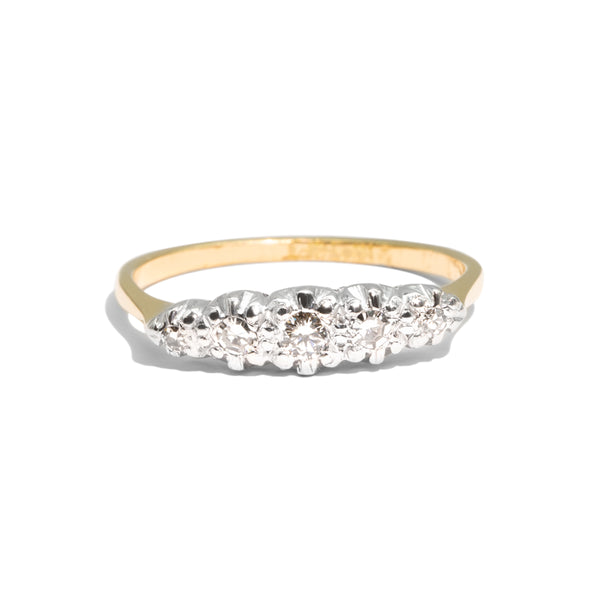 The June Vintage Diamond Ring