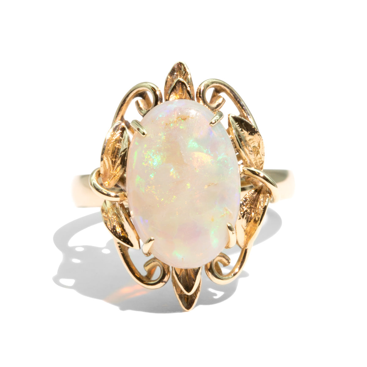 The Freya Vintage Opal Ring