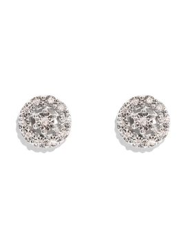 The Eliza Vintage Diamond Stud Earrings